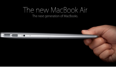 Apple prezenton MAcBook Air ultra të hollë