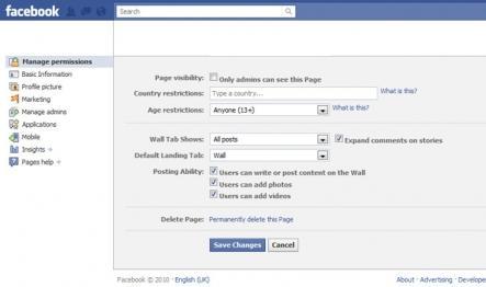 Menaxhimi i Facebook fan pages, u bë më e thjesht.