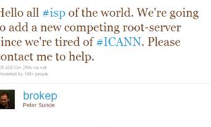 Themeluesi i Pirate bay shkon kundër ICANN me DNS sistem të ri P2P.