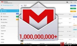 Gmail për Android kalon 1 miliard shkarkime