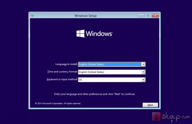 Instalo Windows 10 në kompjuterin tuaj 1