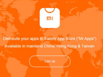 Xiaomi hap dyqanin ndërkombëtar për aplikacione