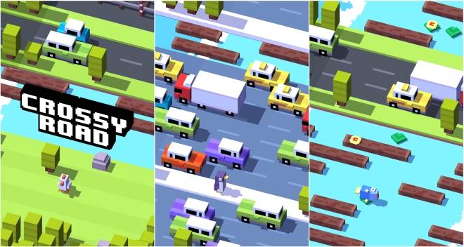 Crossy Road lansohet në Play Store