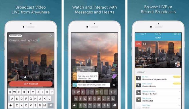 Twitter lanson shërbimin Periscope në iOS1
