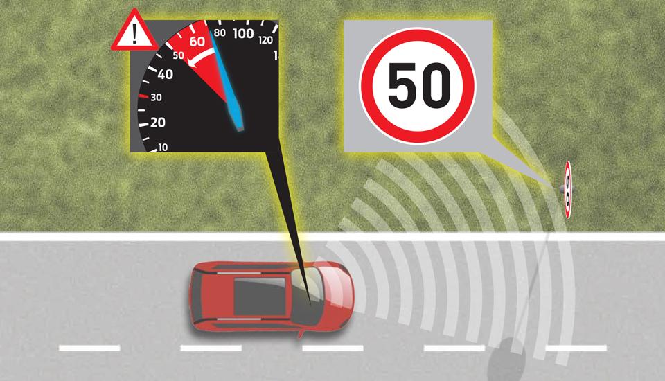 Vetura Ford S-Max iu detyron të zbatoni shpejtësinë maksimale të lejuar (Video)
