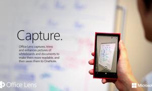 Office Lens shndërron telefonin tuaj në skaner