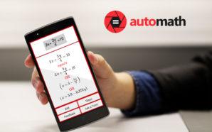 AutoMath zgjidhë detyrat tuaja të matematikës