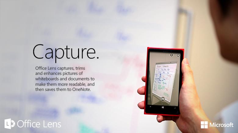Office Lens shndërron telefonin tuaj në skaner(Video)